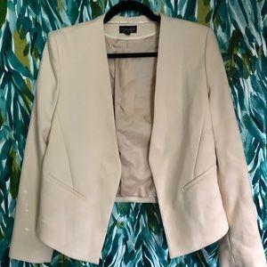 topshop light pink blazer size 8